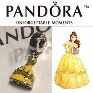791576enmx Retired Pandora Disney Belle's Dress